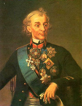 Прославленный российский полководец Александр Васильевич Суворов