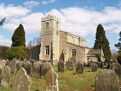 Загрузить увеличенное изображение. 400 x 300 px. Размер файла 35348 b.  The beautiful Lastingham Church which has 7th century Saxon and early Norman origins