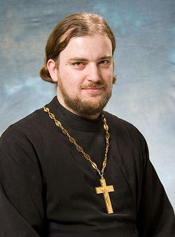 Священник Александр Задорнов <br> Фото Г. Балаянц