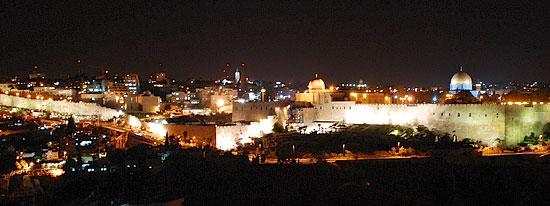 Иерусалим. Старый город ночью. Фото: А.Поспелов / Православие.Ru