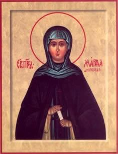 Икона преподобной Марфы Дивеевской