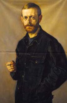 Поэт Николай Мельников. Убит 24 мая 2006 г. в городе Козельске в возрасте 41 года