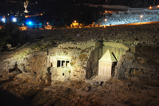 Гробницы Захарии и Авессалома