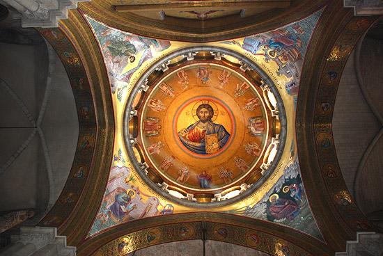 Мозаики православного придела храма Воскресения Христова