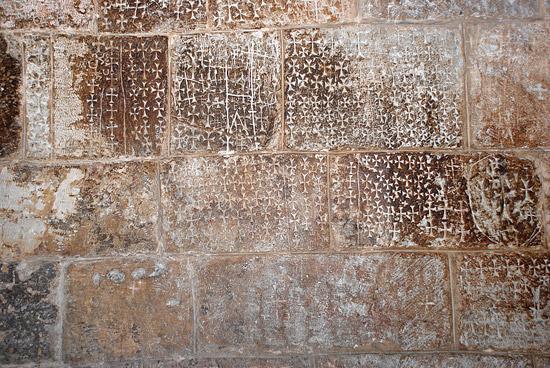 Свидетельства пребывания в храме Гроба Господня крестоносцев