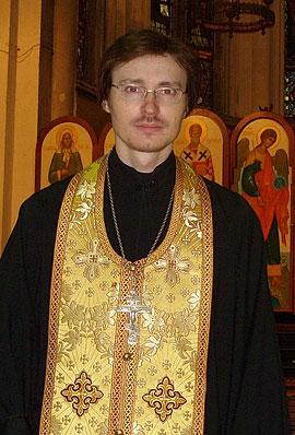 Священник Андрей Елисеев