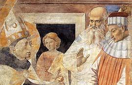 Беноццо Гоццоли. Покаяние еретиков