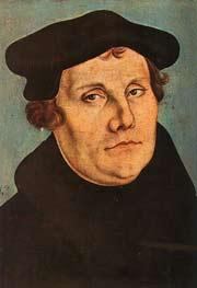 Мартин Лютер. Портрет
