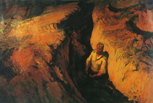 Борис Неменский. Земля опалённая. 1957
