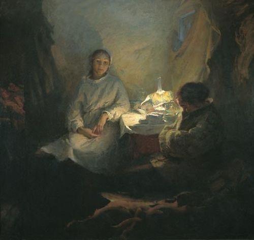 Борис Неменский. Машенька (Сёстры наши). 1954