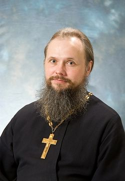 Священник Вадим Леонов <br>Фото Г. Балаянц