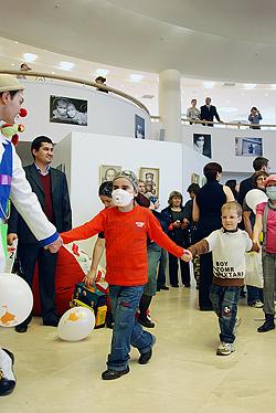 На благотворительном концерте в Московском доме музыки 15 мая 2009 г.