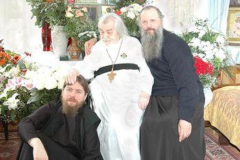 С архимандритом Иоанном (Крестьянкиным)