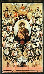 Икона Божией Матери Владимирская. Древо Государства Российского