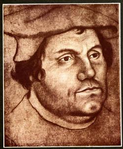 Мартин Лютер (1483-1546) - основоположник Протестантизма, лидер Реформации. Отвечая на реформацию, Католическая церковь провела ряд важных реформ и, несмотря на раскол, укрепила свои позиции