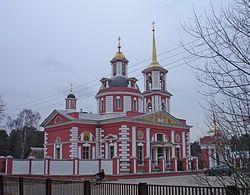 Загрузить увеличенное изображение. 640 x 480 px. Размер файла 96757 b.  Церковь во имя преподобного Сергия Радонежского в с. Алмазово