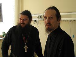 Отец Киприан с отцом Клеопой