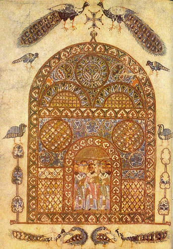Изборник Святослава (ГИМ. Син. 1043). Миниатюра