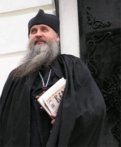 Архимандрит Ефрем, настоятель Покровского скита