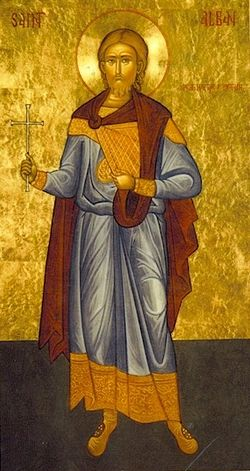 Святой мученик Албан
