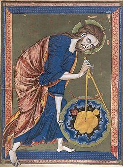 Сотворение мира. Морализованная Библия, Франция, XIII в.