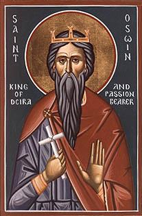 Святой мученик Освин
