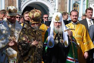 Посещение Украины святейшим Патриархом Алексием II