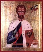 Икона Царя-мученика из храма свт. Николая в Пыжах