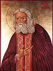 Святой преподобный Серафим, Саровский чудотворец
