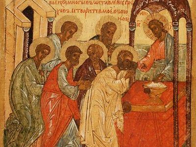Таинство причащения. <BR>Часть 1. Значение таинства причащения в жизни православного христианина. Происхождение литургии