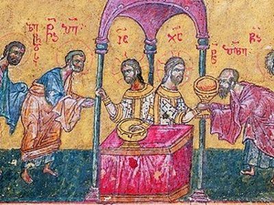 Таинство причащения. <BR>Часть 2. Последовательность и символическое значение литургии