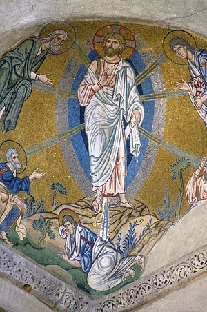 Mosaic of the Transfiguration