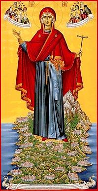 Пресвятая Богородица – Игуменья Святой Горы