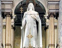 Памятник святому Стефану