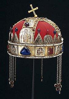 Венгерская корона cв. Стефана