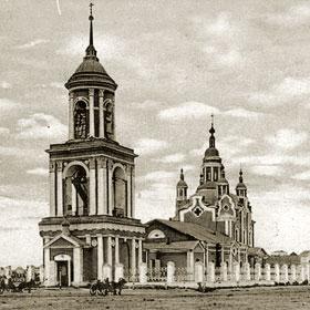 Петропавловск. Церковь Петра и Павла