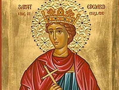 Святой Эдуард-мученик и судьба Англии