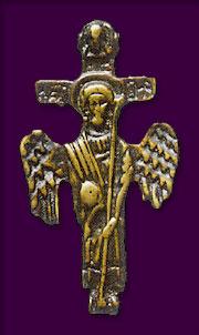 Крест Ангел Великого Совета. XIX век. Литье.