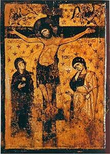 Ил. 4. Распятие. XII в. Музей византийского искусства. Афины