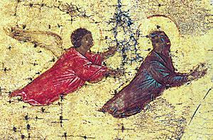 Ил. 7. Дионисий. Распятие. Фрагмент