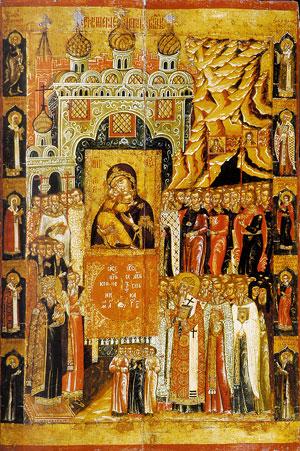 Сретение чудотворной Владимирской иконы Пресвятой Богородицы на Кучковом Поле