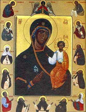 Гластонберийская икона Божией Матери