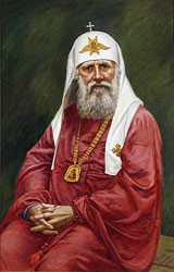 Святейший Патриарх Тихон. Художник Ф.Москвитин, 2005 г.