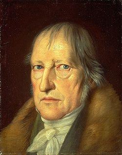 Гегель. Портрет кисти Шлезингера