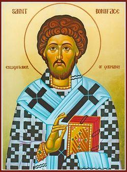 Святой Бонифаций Германский