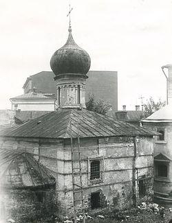 Храм преподобной Марии Египетской. Фото 1928 г.