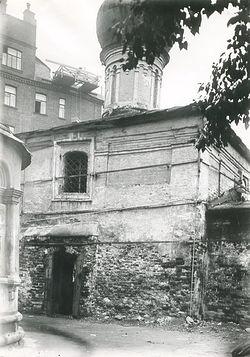 Храм преподобной Марии Египетской. Вид от собора. Фото 1928 г.