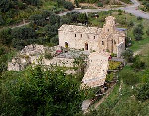 Православный греческий монастырь в Калабрии. Италия