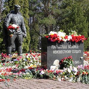 Памятник советскому воину-освободителю на новом месте