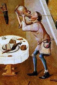 Святые отцы о грехе винопития